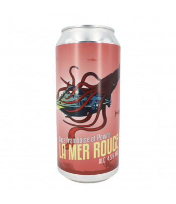Grand Paris - La Mer Rouge - Bière Gose 44cl (+2€)
